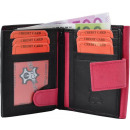 wholesale Wallets: schwa Damenbörse genuine leather with large outdoo