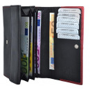 wholesale Wallets: Large Women's wallet with snap button coin poc