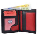 wholesale Wallets: Wallet Wallet (small) Black / Red