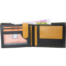 groothandel Tassen & reisartikelen: Wallet Wallet black / tan