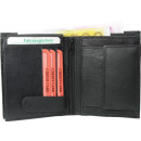 wholesale Wallets: Moneybörse Kombibörse black