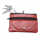 wholesale Miscellaneous Bags: Key pocket with 2 rings + coin case -