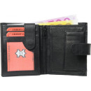 wholesale Bags & Travel accessories: Wallet black with external bolt