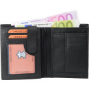wholesale Wallets: Moneybörse Kombibörse black