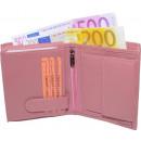 wholesale Wallets: Nappa leather wallet pink uni