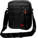 Großhandel Handtaschen: Umhängetasche Unisex 100% Nylon schwarz