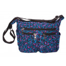 Medium Leisure Shoulder Bag with Pattern - Ny
