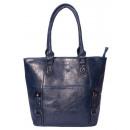 Großhandel Handtaschen: dariya® Big-Size Freizeit Shopper / Tragetasche -