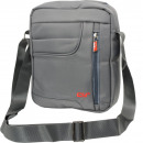 Großhandel Handtaschen: Umhängetasche Unisex 100% Nylon mittelgrau
