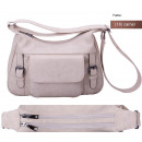wholesale Handbags: dariya® Basic - shoulder bag with large front pock