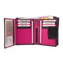 groothandel Tassen & reisartikelen: Kleine damesportemonnee 11 kaartsleuven - ...