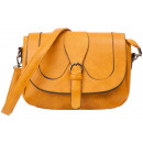 wholesale Handbags: dariya® Small saddlebag / shoulder bag camel