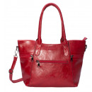 wholesale Handbags: Handle bag / shoulder bag dark red
