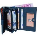 ingrosso Borse & Viaggi: Noble grandi  Damenbörse- molti soggetti - blu medi