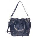 wholesale Mobile phone cases: dariya® bucket bag / bucket bag - PU blue
