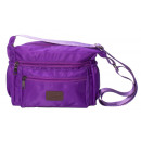 wholesale Travel and Sports Bags: Small sporty shoulder bag - ultraviolet