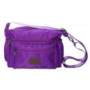 Großhandel Reise- und Sporttaschen: Kleine sportliche Umhängetasche - ultraviolett