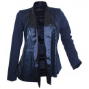 wholesale Coats & Jackets: Ashley Brooke  Damen Pailletten Blazer night blue