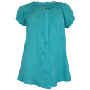 wholesale Shirts & Blouses: REDUCED Tunic blouse turquoise