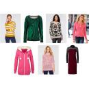 Großhandel Fashion & Accessoires: Damen Mix Paket  Pullover  Strickjacke ...