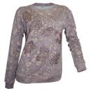 wholesale Pullover & Sweatshirts: Tamaris Women  Print sweatshirt gray powder