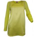 ingrosso Camicie: Camicetta camicia  gialla Blusenshirt elegante