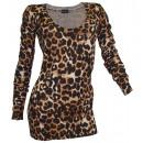 wholesale Pullover & Sweatshirts:Ladies Leo Long Jumper