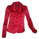 wholesale Coats & Jackets: Ashley Brooke Blazer Satin red