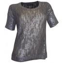 wholesale Pullover & Sweatshirts: Patrizia Dini Pullover gray silver