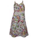 Dress flower sundress summer dress mini dress