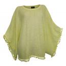 hurtownia Plaszcze & Kurtki: Letni sweter z długim rękawem Laura Scott Yellow