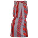 Großhandel Fashion & Accessoires: Kleid weiß/orange Minikleid