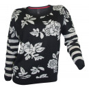 wholesale Pullover & Sweatshirts: Best Connections Sweater black white