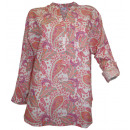 wholesale Shirts & Tops: Corley print  blouse tunic hummer bunt