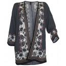 wholesale Pullover & Sweatshirts: Best Connections  Print  Longstrickjacke ...