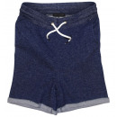 ingrosso Shorts: John Devin Sweat-Bermuda blu chiazzato
