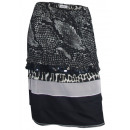 wholesale Skirts: Heine elegant  skirt layered look black gray