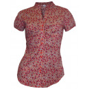 wholesale Shirts & Blouses: Corley blouse Floral colorful red