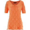 wholesale Pullover & Sweatshirts:Ajour pullover orange