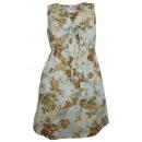 Großhandel Hemden & Blusen: Tamaris Longbluse Blumen mint bunt