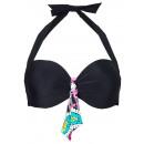 groothandel Badmode:Bikini top zwarte Cup E