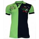 ingrosso T-shirts & Tops: Cipo & Baxx  Herren Polo verde blu scuro