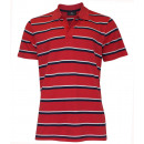 Grey Connection  Men's Polo Shirt striped red