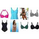Ladies swimwear  mix swimsuit, 2 pcs. Bikini top
