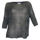 Carry Allen  Women's Lurex sweater silver