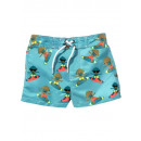 wholesale Swimwear: Cool boys swimming  shorts turquoise colorful