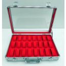 grossiste Boîtes et presentoirs bijoux: REGARDEZ aluminium  Montre CAS Box Montre Montre