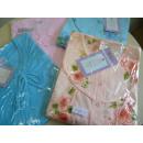 Großhandel Nachtwäsche: kleiner Restposten  Damen-Nachthemd, 3/4 Länge