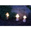 Gartenbeleuchtung Pilzform Außenlampe Effektlampe