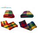 wholesale Cushions & Blankets: Cuddle blancket , 2sort. Chenille plaid design